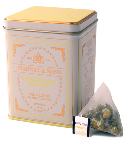 Click Here to add Harney Chamomile Loose tea in Sachets to your order