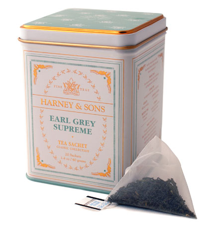 Click Here to add Harney Earl Grey - Bergamot Assam Loose tea in Sachets to your order